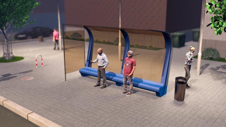 В Волгограде установят еще 81 новый остановочный павильон