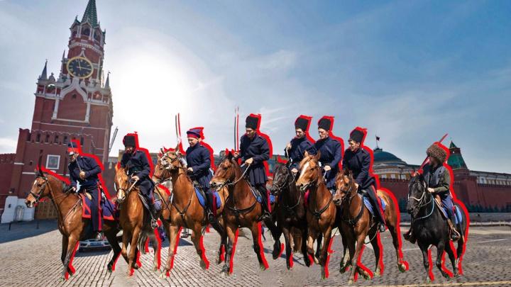 Донские казаки впервые пройдут по Красной площади на параде Победы