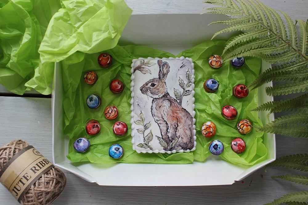 Долгое время Яна Кипрей делала пряники с глазурью и расписывала их различными съедобными иллюстрациями