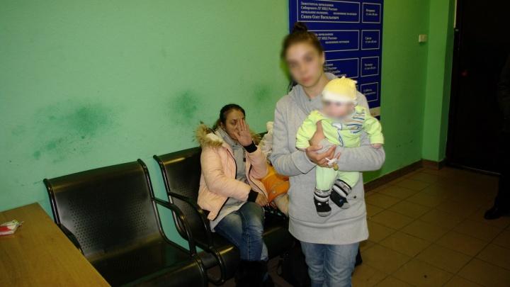 На вокзале нашли цыганку-попрошайку с 3-месячным сыном и отобрали его