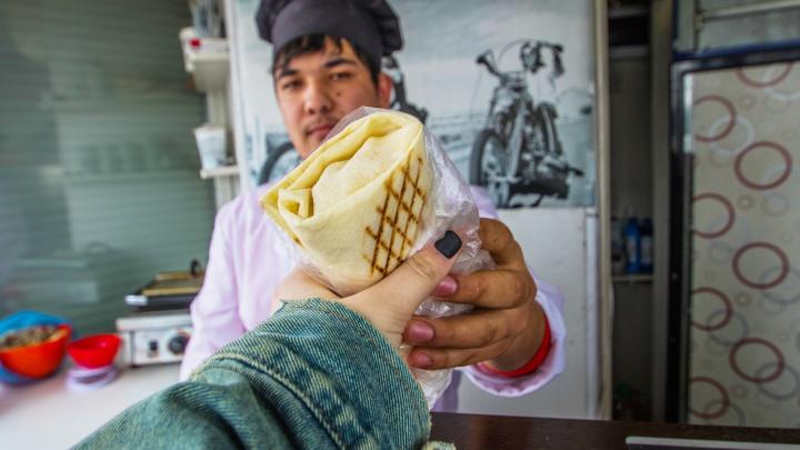 В Курганской области самая дешевая в России шаурма