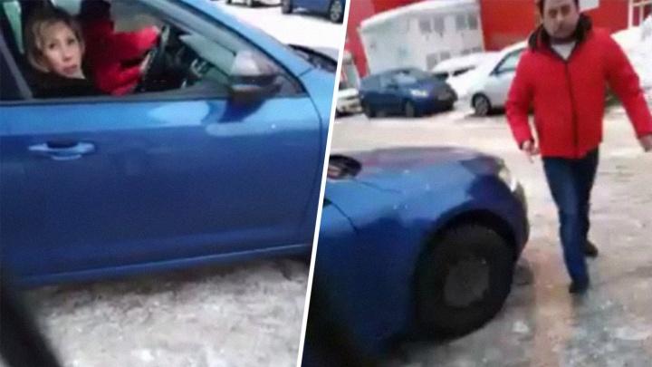 Уголовное дело ярославца, избившего женщину из-за места на парковке, передали в суд