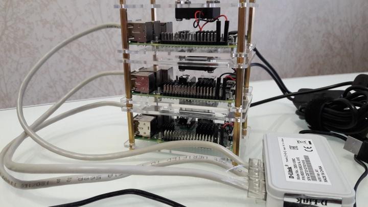 Пятиклассник вместе с отцом собрали крошечный суперкомпьютер