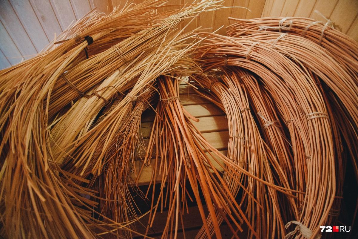 Некоторые ученики сами готовят лозу и выращивают разные сорта ивы на собственных участках