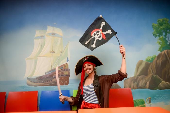 В «Лимпопо» можно провести пиратский день рождения