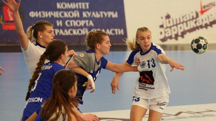 Волгоградское «Динамо» разгромило «Алису» из Уфы