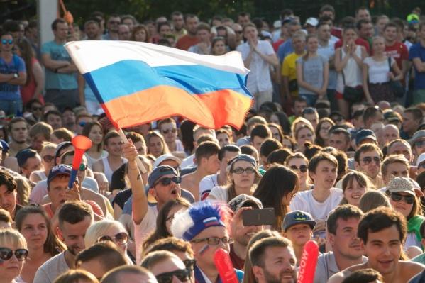 В День флага на улице можно будет увидеть много триколоров