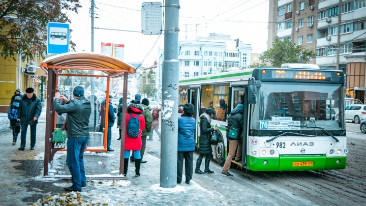 Ростовский маршрут № 76 изменил схему движения