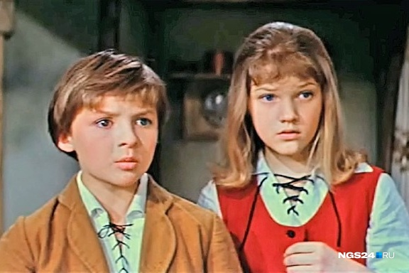 Кадр из фильма «Снежная королева» 1967 года