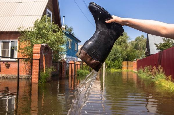 Весенний паводок 2016 года в СНТ «Строймашевец»