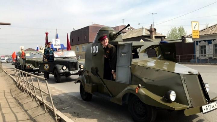 Омич за 350 тысяч продаёт бронеавтомобиль, сделанный из Иж «Ода»