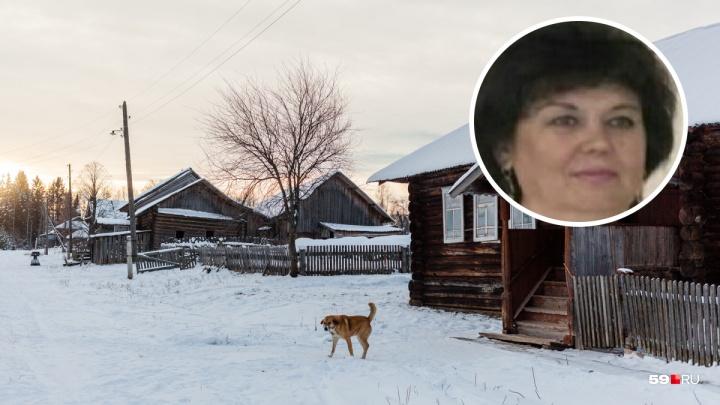 В Прикамье нашли погибшей женщину, пропавшую после Нового года