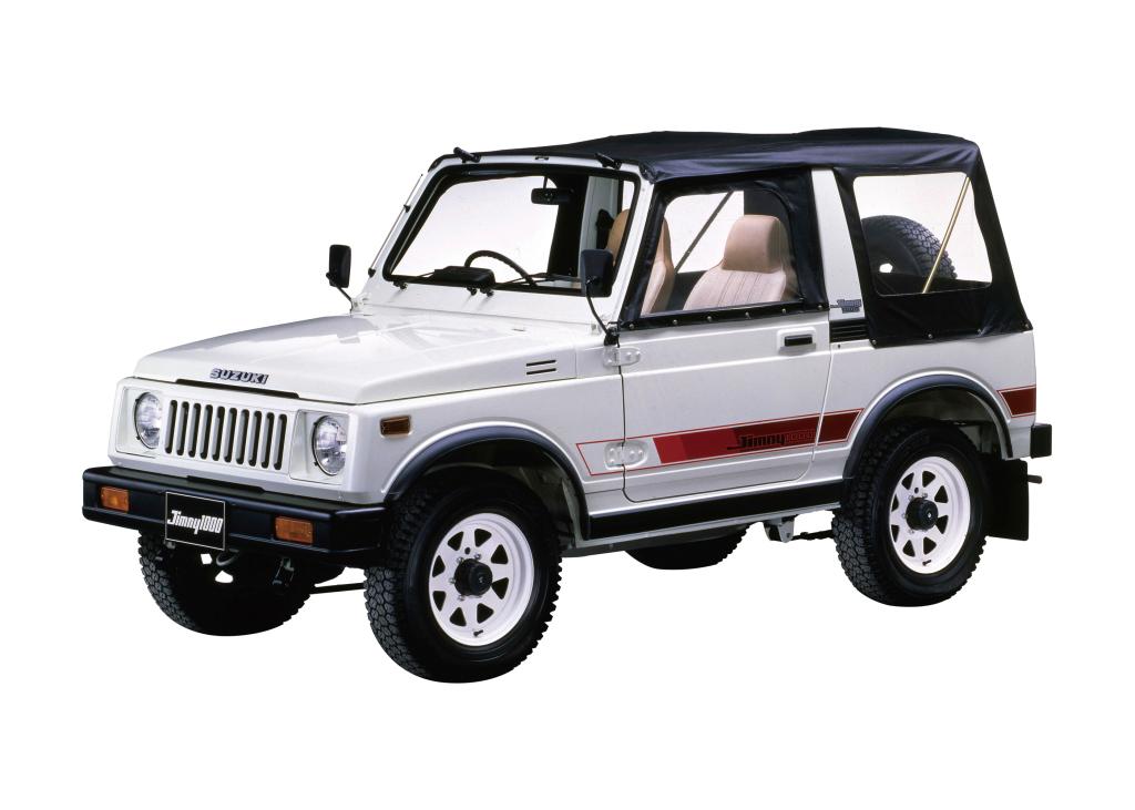 Второе поколение Jimny дебютировало в 1981 году: вот на него-то и ссылается дизайн нового «Джима»