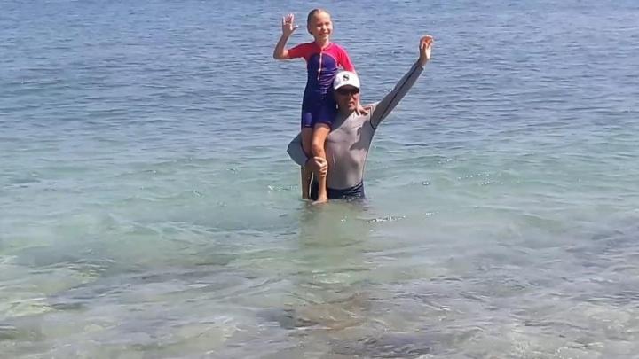 7-летняя екатеринбурженка проплыла в открытом море в Таиланде 10 километров без остановки