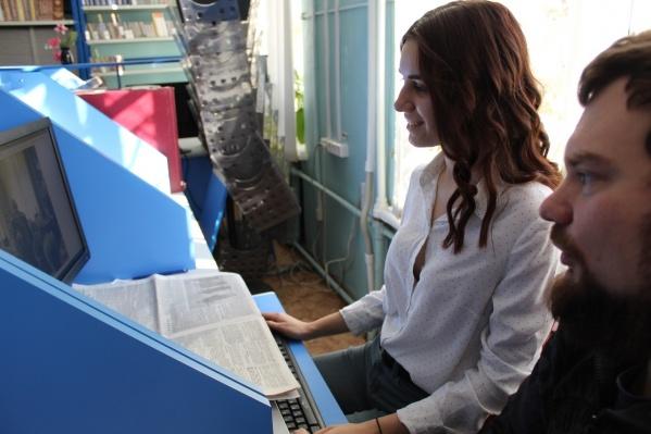 Волгоградцы обрабатывают информацию о героях черкасского движения