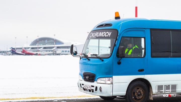 В самарском аэропорту снизили цены на долгосрочную парковку