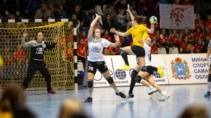 ГК «Ростов-Дон» обыграл тольяттинскую команду в первом матче финала Суперлиги