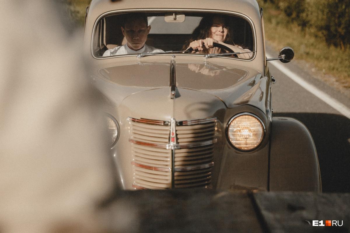 Сцену за рулем автомобиля снимали с эвакуатора