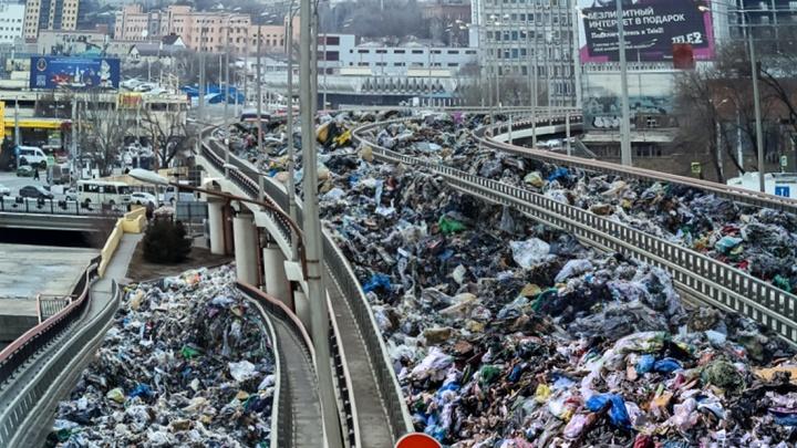 Угадай район Ростова по мусорной куче