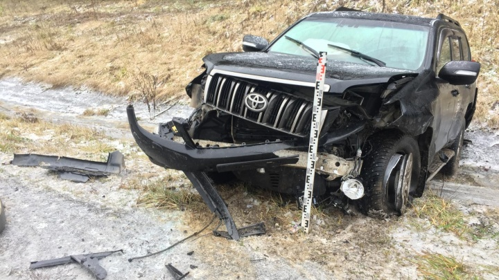 В Перми два человека пострадали в ДТП на дороге до Новых Лядов