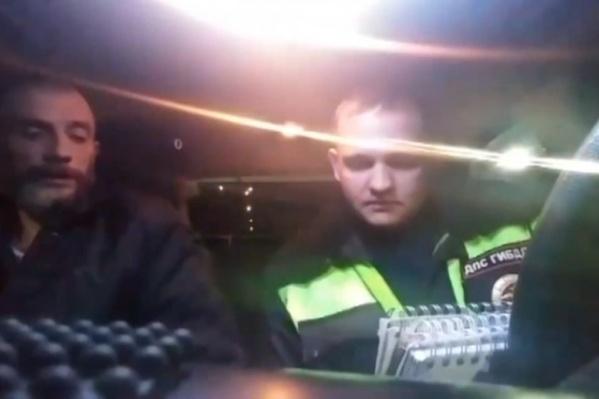 Водитель заставил гоняться за ним и отказался от медицинского освидетельствования на месте