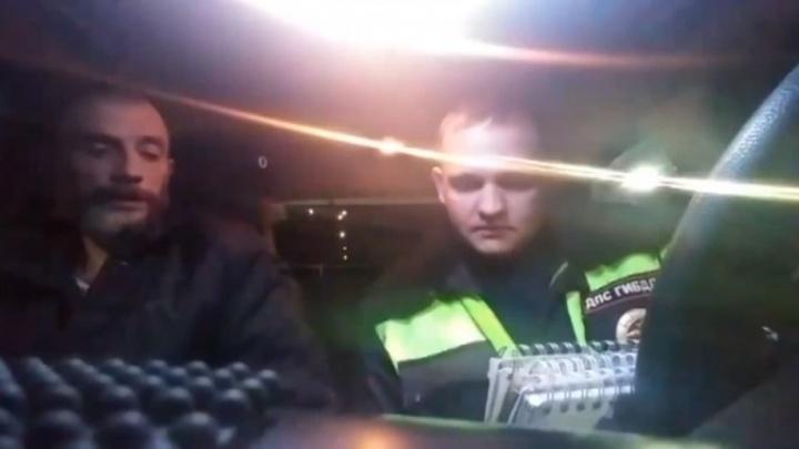 Тюменские полицейские устроили погоню за пьяным водителем-рецидивистом