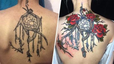 Было стыдно показать друзьям: 20 ужасных татуировок, исправленных мастерами