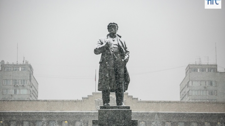 Зима пришла: лучшие кадры первого снегопада в Красноярске