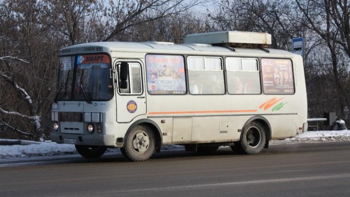 В Кургане из-за мороза на маршруты не вышла часть автобусов