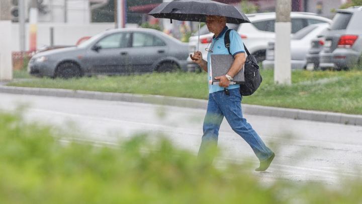 В Волгоградской области ливни и сильный ветер возьмут в свою команду град