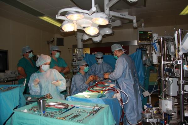 Операцию новым методом уже провели двум пациентам