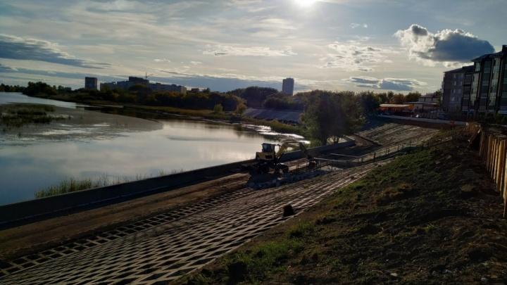 В Кургане готовят проект ремонта набережной от Кировского моста до дамбы
