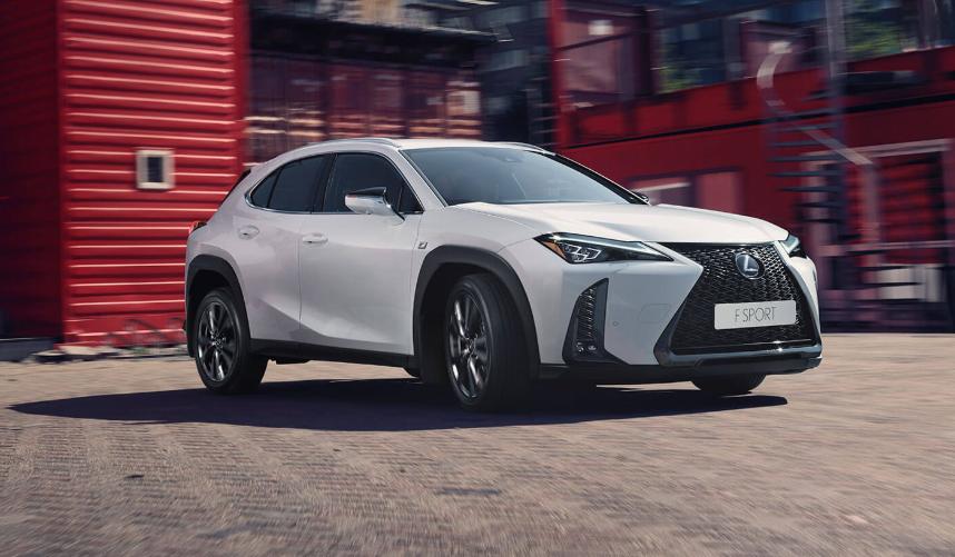 Lexus UX — новая модель в линейке