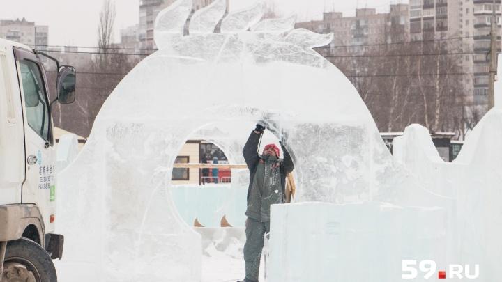 Ледовые сакуры и снежные пагоды. Зимой в центре Перми появится кусочек Японии