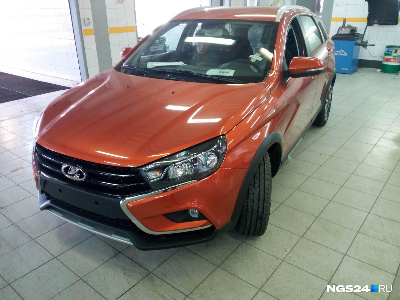 Продажи авто в Красноярске стартуют с 4 ноября