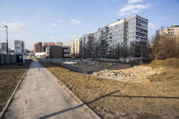 Власти выдали разрешение на строительство 8-этажки на месте снесённой гостиницы