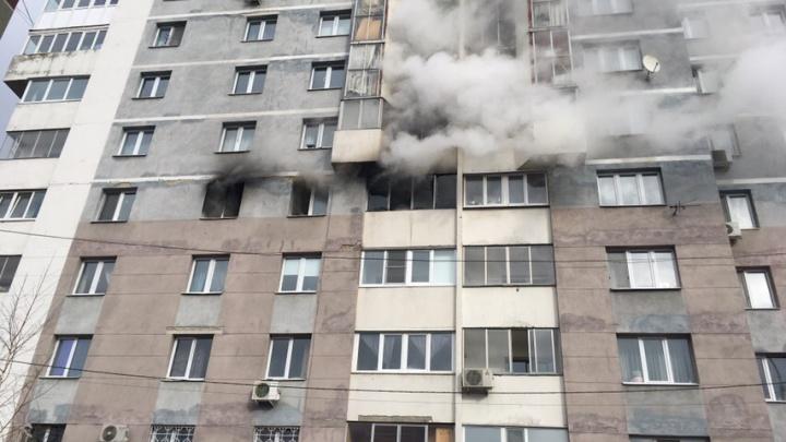 «Хозяин, спасаясь, выпрыгнул в окно»: в Екатеринбурге загорелась квартира в 17-этажном доме