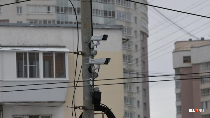 Водителей, которые выезжают на трамвайные пути на Ленина, будут ловить с помощью камер видеофиксации