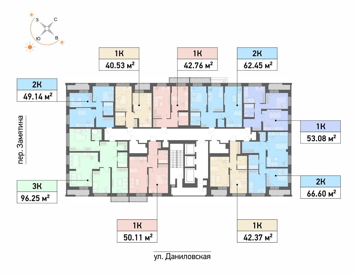 21-этажный дом