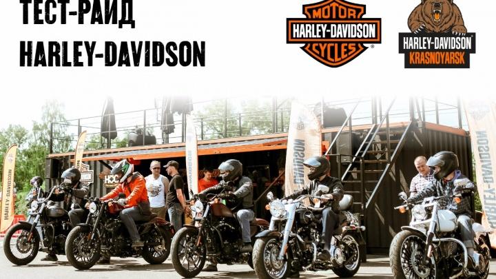 30 июня в Красноярске пройдет тест-райд мотоциклов Harley-Davidson