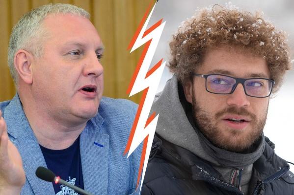 Александр Колесников и Илья Варламов поспорили о благоустройстве скверов