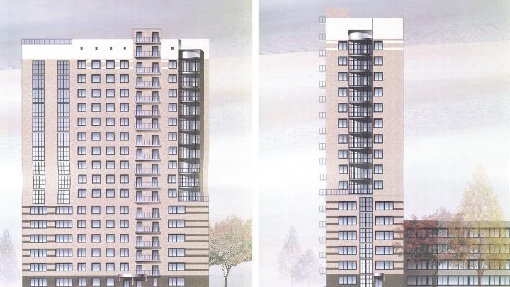 Вузу разрешили построить 17-этажное общежитие в центре Новосибирска
