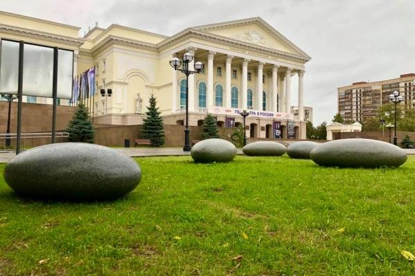 Композиция называется «Камни времени», и это подарок Тюмени от компании из Челябинска