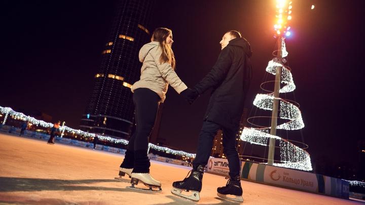 30 ноября в Екатеринбурге состоится праздничное открытие обновленного катка «Исеть Парк»
