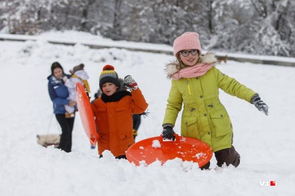 На 2 января смело планируйте лепку снеговиков, мокрого снега будет достаточно