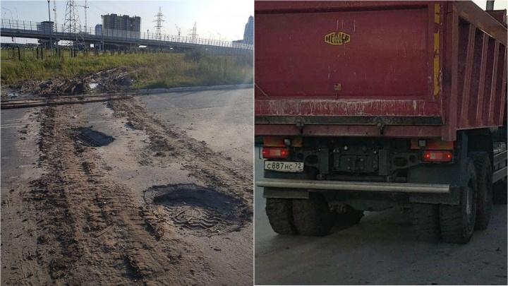 Тюменцы поругались с «Мостостроем-11» из-за грязи во дворе