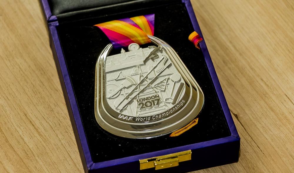 Нижегородец Пронкин завоевал «серебро» наЧемпионате мира полегкой атлетике встолице Англии