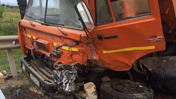 Житель Башкирии погиб в лобовом ДТП с КАМАЗом в Челябинской области