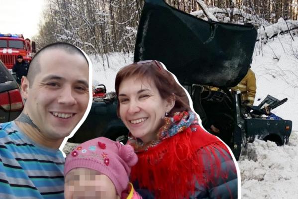 Водитель ВАЗ-2107 погиб на месте, его жена — по дороге в больницу, их дочь — в коме
