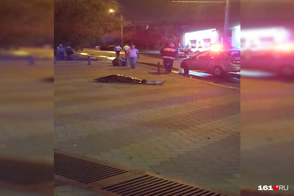 Очевидцы аварии вызвали скорую и полицию